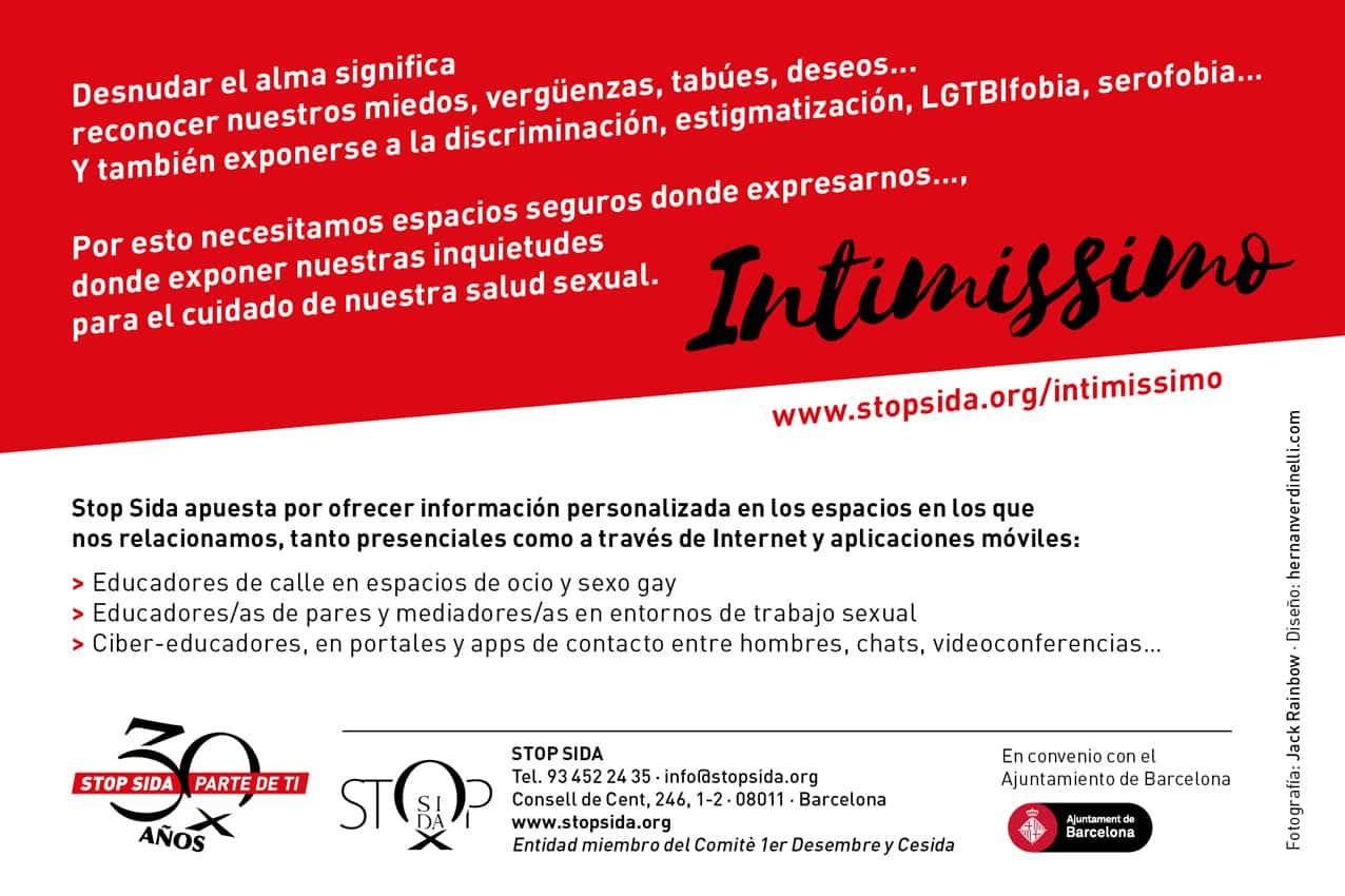 intimissimo Stop Sida prevencion VIH
