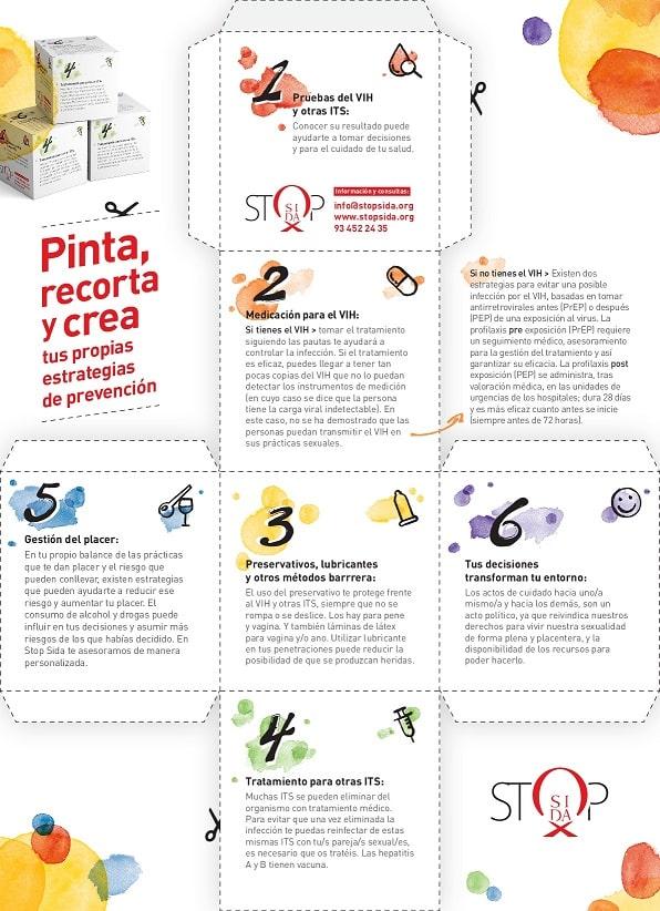 Cartel estrategia prevencion VIH