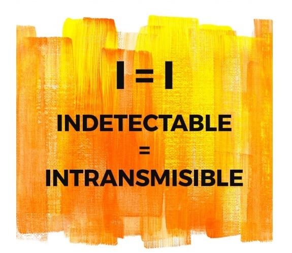 VIH, carga viral indetectable es intransmisible