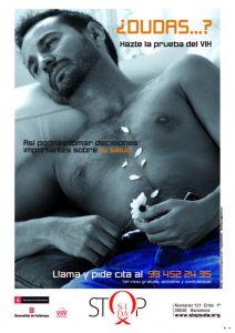 ¿ Dudas...? : hazte la prueba del VIH