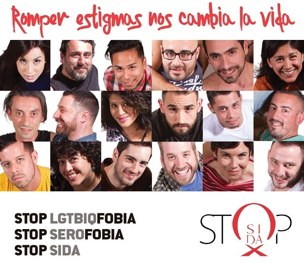 Historia Stop Sida LGTB salud sexual