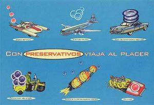 Con preservativos viaja al placer