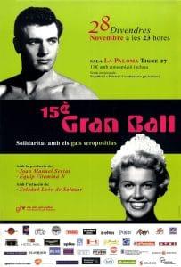 15è Gran Ball: solidaritat amb els gais seropositius
