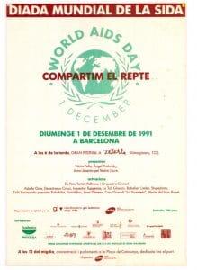 Diada Mundial de la Sida : compartim el repte
